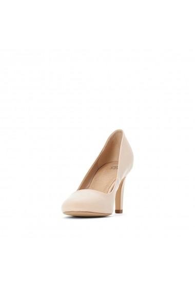 Pantofi cu toc La Redoute Collections GFY128 nude