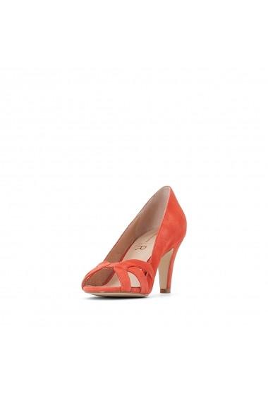 Pantofi cu toc La Redoute Collections GFY132 rosu