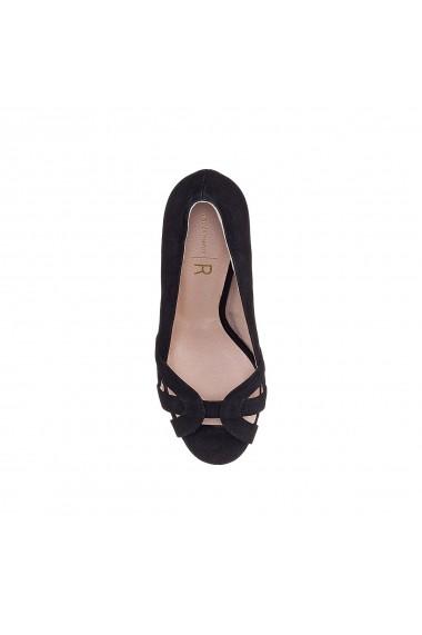 Pantofi cu toc La Redoute Collections GFY132 negru