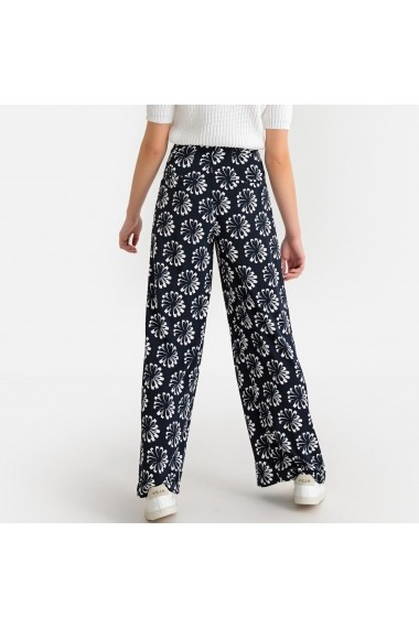 Pantaloni largi La Redoute Collections GFY315 bleumarin