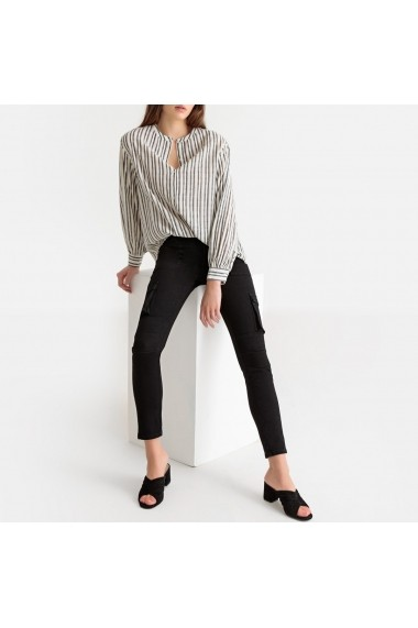 Jeansi skinny La Redoute Collections GFY364 negru
