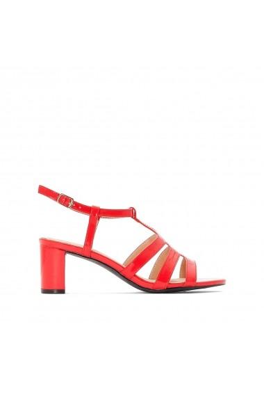 Sandale cu toc ANNE WEYBURN GFY921 rosu