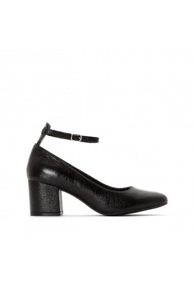 Pantofi cu toc La Redoute Collections GFY936 negru