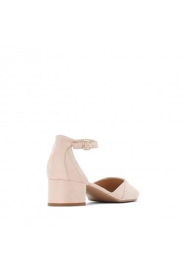 Pantofi cu toc La Redoute Collections GFY940 nude