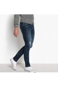 Jeansi skinny La Redoute Collections GGB010 albastru