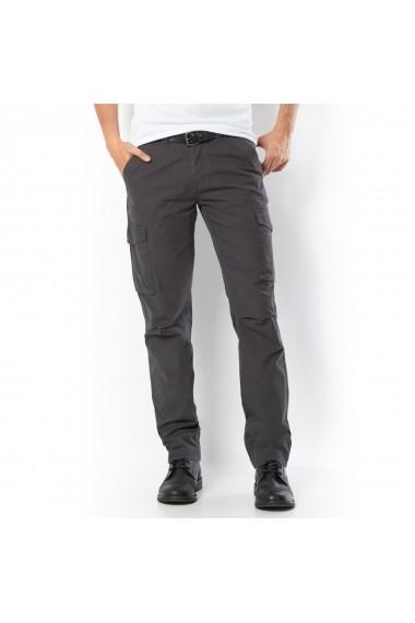 Pantaloni cargo La Redoute Collections GGB041 gri