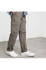 Pantaloni cargo La Redoute Collections GGB041 Gri-Bej