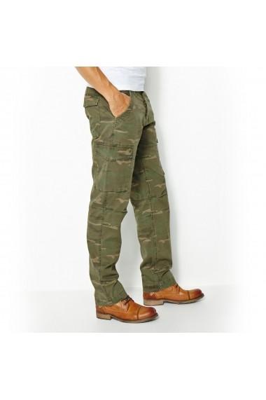 Pantaloni cargo La Redoute Collections GGB048 verde
