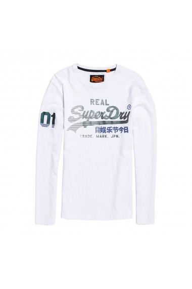 Bluza SUPERDRY GGD952 alb