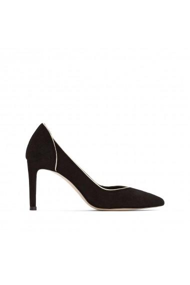 Pantofi cu toc La Redoute Collections GGF769 negru