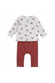 Set bluza si pantaloni La Redoute Collections GGG075 maro