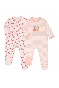 Set 2 pijamale La Redoute Collections GGT937 roz