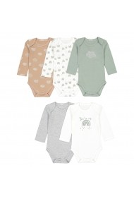 Set 5 body-uri La Redoute Collections GGT952 multicolor
