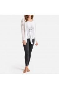 Pijama La Redoute Collections GGU843 alb