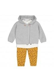 Set cardigan, bluza si pantaloni La Redoute Collections GGY093 multicolor
