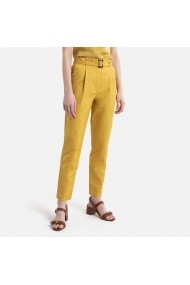 Pantaloni La Redoute Collections GGZ986 ocru