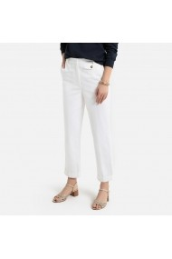 Pantaloni La Redoute Collections GGZ987 alb