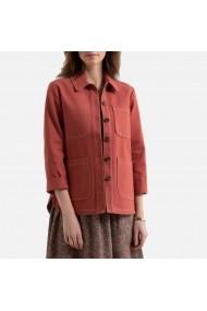 Жакет La Redoute Collections LRD-GHA274-9195 Червено кафяв