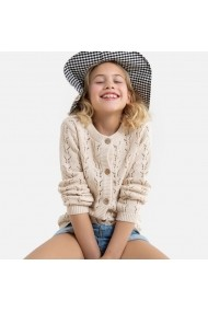 Cardigan La Redoute Collections GHE014 ivory