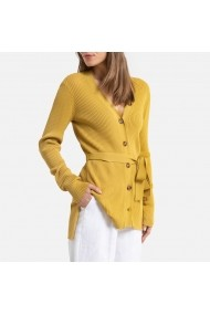 Cardigan La Redoute Collections GHE331 ocru