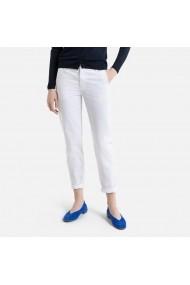 Pantaloni La Redoute Collections GHE347 alb