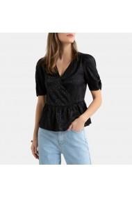 Bluza cu peplum La Redoute Collections GHE649 negru