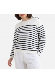 Pulover LA REDOUTE COLLECTIONS PLUS GHF161 crem