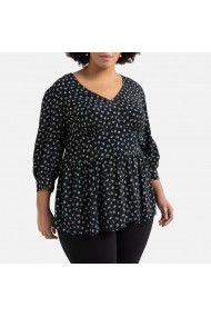 Bluza LA REDOUTE COLLECTIONS PLUS GHG464 negru