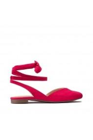 Pantofi cu toc La Redoute Collections GHG538 rosu