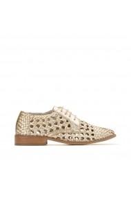 Pantofi Derby La Redoute Collections GHG672 auriu