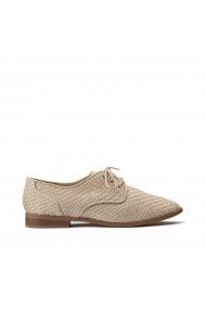 Pantofi Derby La Redoute Collections GHG680 bej