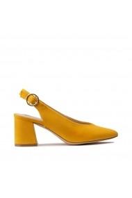 Pantofi cu toc La Redoute Collections GHG724 galben