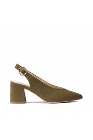 Pantofi cu toc La Redoute Collections GHG724 kaki
