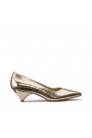 Pantofi cu toc La Redoute Collections GHG735 auriu