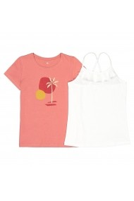Tricou La Redoute Collections GHH311 roz