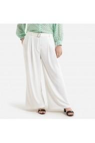 Pantaloni LA REDOUTE COLLECTIONS PLUS GHH592 alb