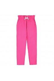 Pantaloni La Redoute Collections GHI579 roz
