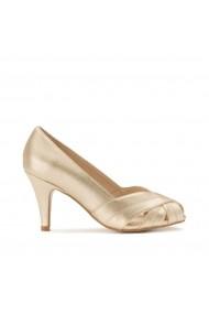 Pantofi cu toc LA REDOUTE COLLECTIONS PLUS GHK091 auriu