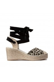 Espadrile LA REDOUTE COLLECTIONS PLUS GHK092 animal print