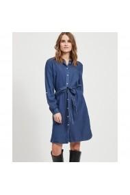 Rochie VILA GHL378 albastru