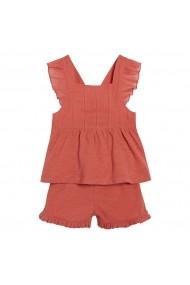 Set top si pantaloni scurti La Redoute Collections GHL611 roz