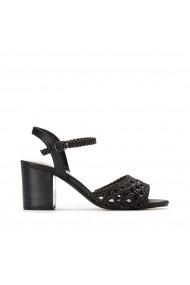 Sandale La Redoute Collections GHL667 negru