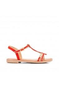 Sandale LES TROPEZIENNES par M BELARBI GHN496 corai