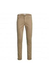 Pantaloni lungi JACK & JONES GHW047 bej