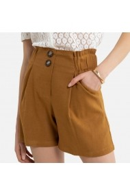 Pantaloni scurti La Redoute Collections GHW368 maro