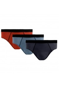 Set 3 boxeri La Redoute Collections GIF799 albastru