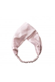 Bentita din matase naturala Baby Pink