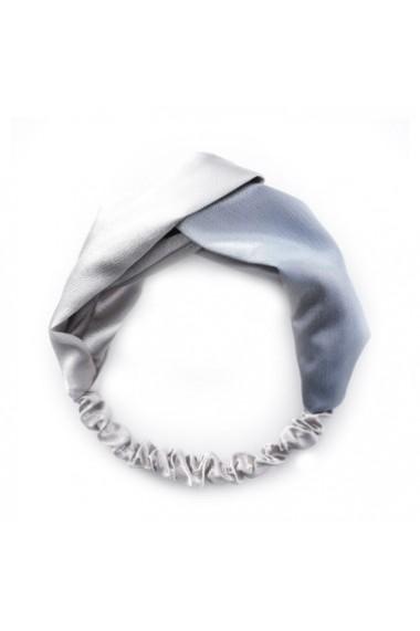 Bentita din matase naturala Silver
