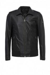 Jacheta din piele Jimmy Sanders 18F CTM22000 Negru