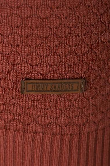 Pulover Jimmy Sanders MAS-18F KM5031 TILE - els